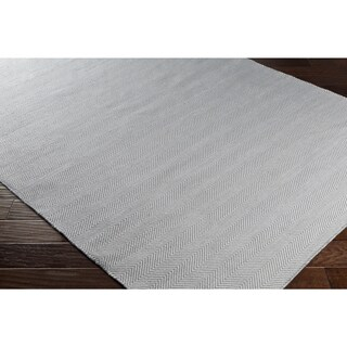 Hand-Woven Hampstead PET Yarn Area Rug - 5' x 7'6""