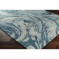 Hand-Tufted Admine Wool Area Rug - 8' x 10'