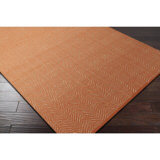 Hand-Woven Kaneen PET Yarn Area Rug - 5' x 7'6""