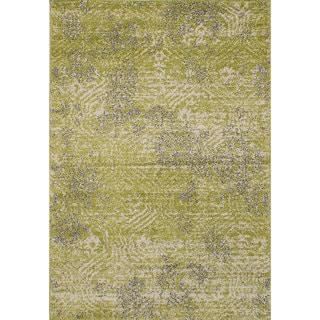 ecarpetgallery La Morocco Green Area Rug Shag (6'5 x 9'5)