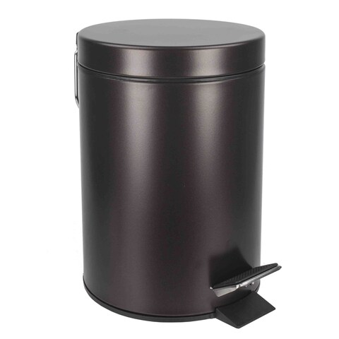 Home Basics Bronze Toilet Brush or Waste Bin (items sold separately)