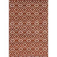 ecarpetgallery La Morocco Brown Area Rug Shag (5'2 x 7'5) - 5'2 x 7'5