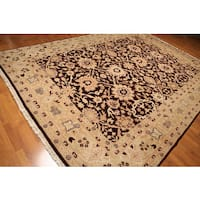 Hand-knotted Peshawar Wool Area Rug (9' x 12')