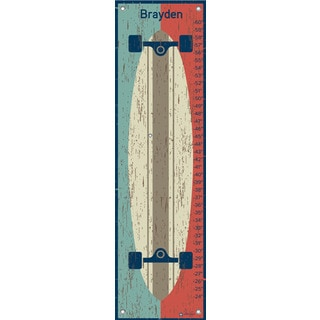 Oopsy Daisy Deck the Wall Canvas Growth Chart
