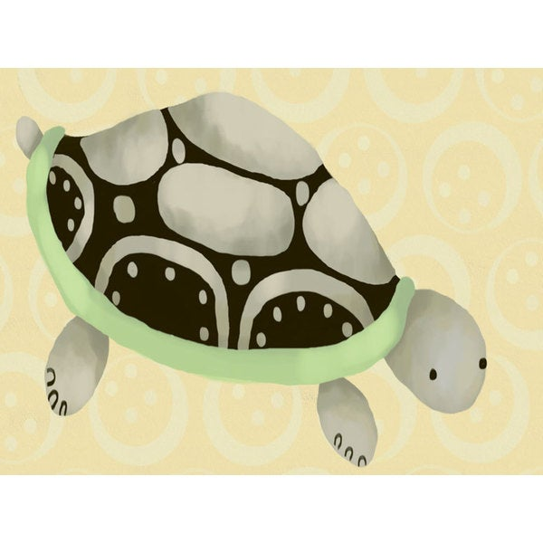 Oopsy Daisy Tennyson the Turtle Canvas Wall Art - Free Shipping ...