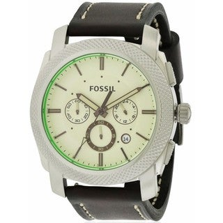Fossil Machine Men's Stainless Steel FS5108 Watch