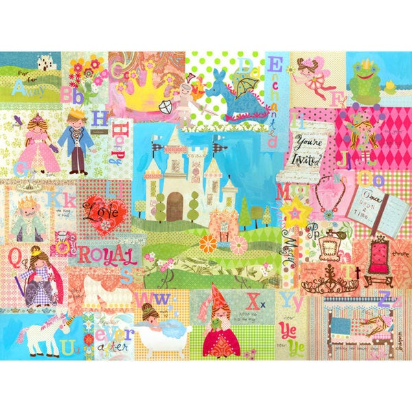 Oopsy Daisy Royal Alphabet Canvas Wall Art - Free Shipping Today ...