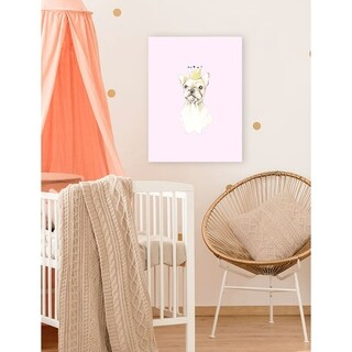 Oopsy daisy 'Frenchie' 10 x 14-inch Stretched Canvas Wall Art