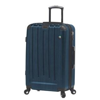 Mia Toro ITALY Diamante Spazzolato 26-inch Expandable Hardside Spinner Suitcase