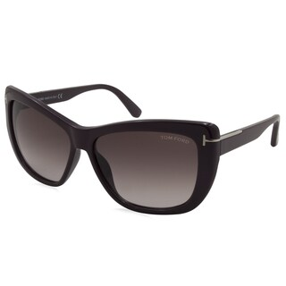 Tom Ford - TF0434-83T Purple 58 mm Square Sunglasses