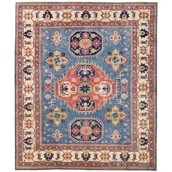 Vegetable Dyed Hand Knotted Floral Oushak Ivory Persian: Carpet Vidalondon