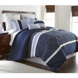 Bachelor 8-piece Down Alternative Comforter Set
