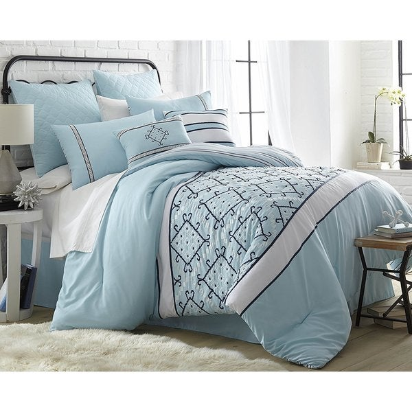 Bali 8-Piece Down Alternative Comforter Set