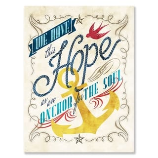 GreenBox 'We Have This Hope' by Fancy That Design House & Co
