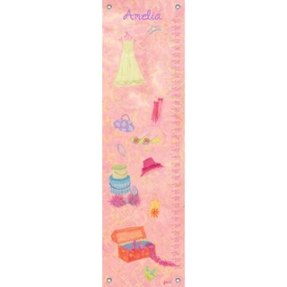 Oopsy Daisy Fashion Plate Canvas Growth Charts