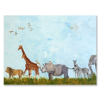 Oopsy Daisy Wild Things Canvas Wall Art