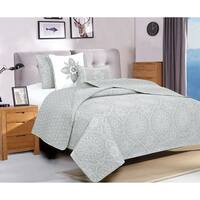 Home Fashion Designs Kiara Collection 5-Piece Printed Quilt Set