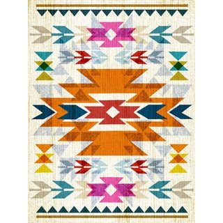 Oopsy Daisy Southwestern Stretched Canvas Wall Art