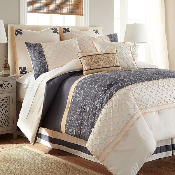 Destin 8-piece Down Alternative Comforter Set