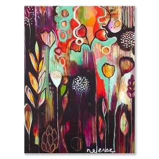 GreenBox Art + Culture 'Release' 30 x 40-inch Stretched Canvas Wall Art