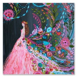 Wheatpaste Pink Dream Catcher Canvas Wall Art
