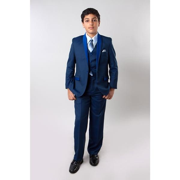 Taio Boys' Blue 5-piece Suit