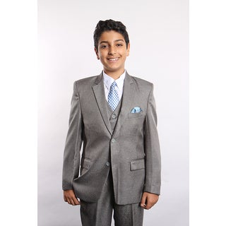 Tazio Boys Grey 5-piece Suit