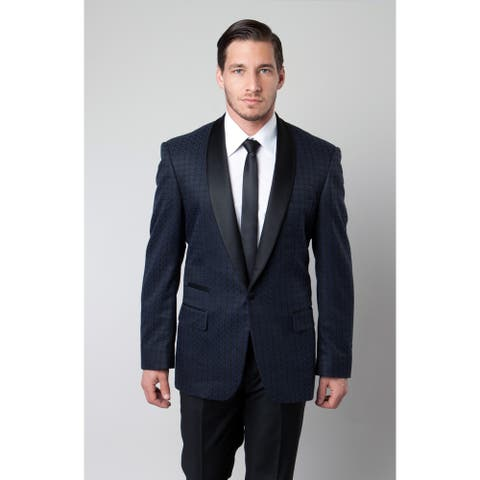 Tazio Men's Navy Sport Coat