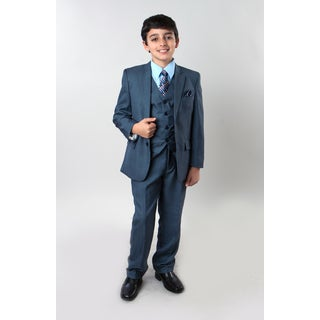 Tazio Boys' 6-piece Sharkskin Suit|https://ak1.ostkcdn.com/images/products/14706651/P21237466.jpg?_ostk_perf_=percv&impolicy=medium