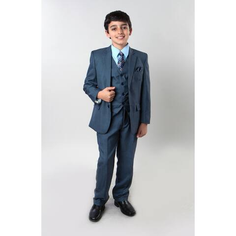 Tazio Boys' 6-piece Sharkskin Suit