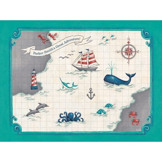 Oopsy Daisy One Great Adventure! Canvas Wall Art