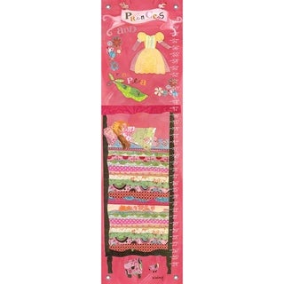 Oopsy Daisy Princess and the Pea Happily Ever After Canvas Growth Charts