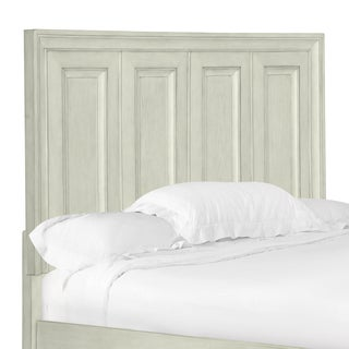 Raelynn Panel Bed King Headboard in Weathered White
