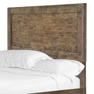 Griffith Panel Bed King Headboard in Weathered Toffee