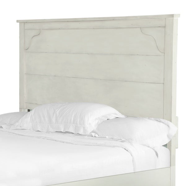 Coventry Lane Panel Bed King Headboard In Antique White