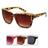 Pop Fashionwear Unisex Oversized Rectangular Squared Cateye Sunglasses