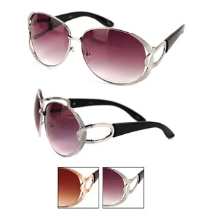 Pop Fashionwear Metal Oval Fashion Sunglasses