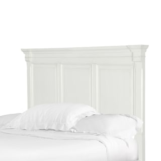 Brookefield King Cotton White Panel Headboard