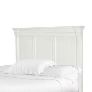 Brookefield Cotton White Queen Panel Headboard