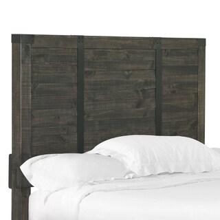 Abington Panel Bed King Headboard in Weathered Charcoal