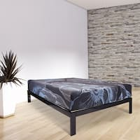 Wolf Picasso Latex Hybrid 11-inch Full-size Mattress and Platform Set