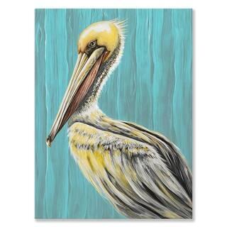 GreenBox 'Pelican Bay' by Karin Grow Canvas Wall Art - 30 x 40