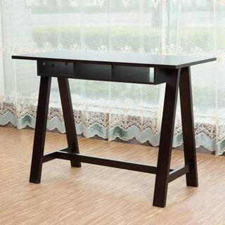 Briarwood Home Decor Espresso Finish Wood Writing Desk