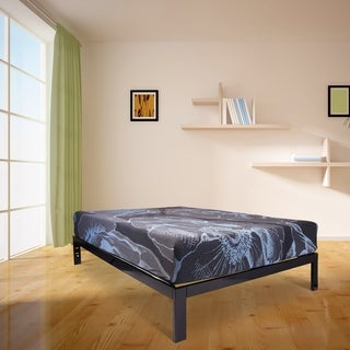 Wolf VanGogh Energex Memory Foam Hybrid 11-inch Queen-size Mattress and Platform Set