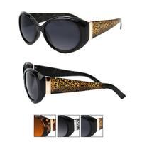 Pop Fashionwear Women's Round Oval Designer Cat-eye Sunglasses
