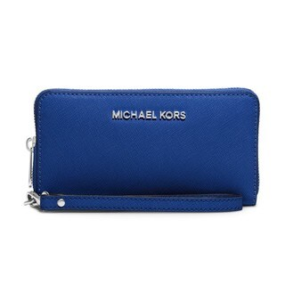 Michael Kors Blue Leather Wallet