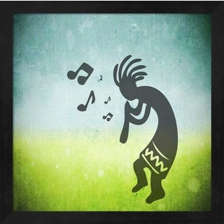 'Kokopelli Music I' Framed Art