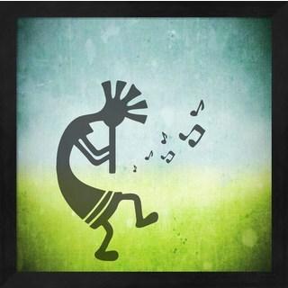 'Kokopelli Music II' Framed Art