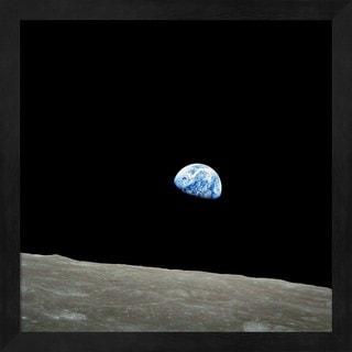 'Earthrise' Framed Art