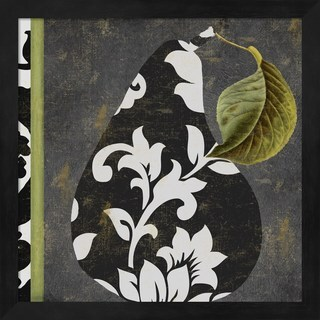 Color Bakery 'Decorative Pear II' Framed Art